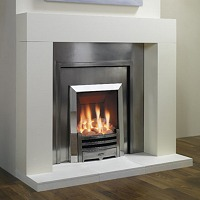 Modern Fireplace Chelsae Cast Iron Front